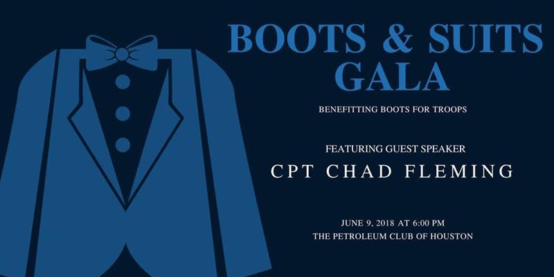 Boots and Suits Gala – June 9th 6pm at The Petroleum Club of Houston