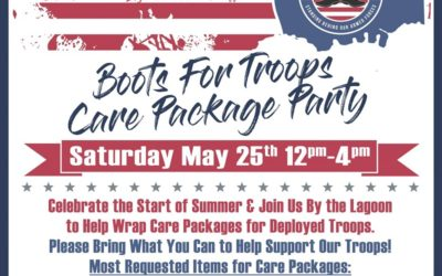 Memorial Day Weekend Kickoff Care Packaging Party – May 25th 2019